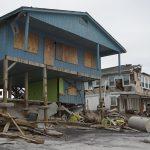 North Carolina home on the beach with Damage