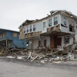 Home on Beach in North Carolina with Damage